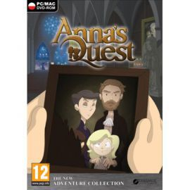 Gra PC Anna's Quest w Saturn