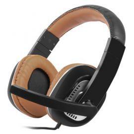 Słuchawki przewodowe NATEC Kingfisher Brązowy