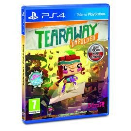 Gra PS4 Tearaway Unfolded
