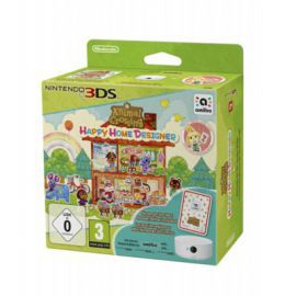 Gra 3DS Animal Crossing: Happy Home Designer + Karta amiibo + Czytnik NFC