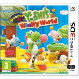 Gra Nintendo 3DS Poochy & Yoshi's Woolly World