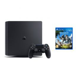 Konsola SONY PlayStation 4 Slim 1TB D Chassis Czarna + Horizon Zero Dawn + Playstation Plus 14 dni