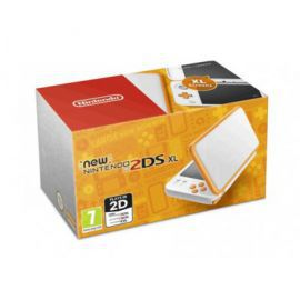 Konsola NINTENDO New Nintendo 2DS XL Biało-Pomarańczowa