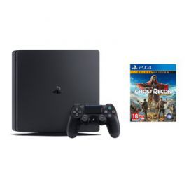 Konsola SONY PlayStation 4 Slim 1TB D Chassis Czarna + Tom Clancy's Ghost Recon: Wildlands - Deluxe Edition