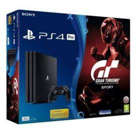 Konsola SONY PlayStation 4 Pro 1TB B Chassis Czarna + Gran Turismo Sport + To jesteś Ty Voucher + Playstation Plus 14 dni
