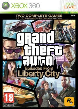 Gra Xbox 360 CENEGA Grand Theft Auto: Episodes from Liberty City