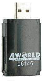 Czytnik kart 4WORLD USB 2.0 All in One