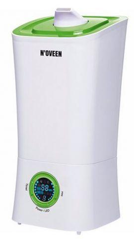 Nawilżacz ultradźwiękowy NOVEEN HQ-UH813G Biało-zielony + 2 olejki zapachowe