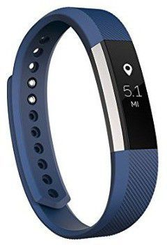 Opaska FITBIT INTERNATIONAL LIMITED Alta fitness (FB406BUL-EU) Rozmiar L Niebieski