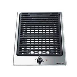 Płyta elektryczna SMEG Grill Domino PGF30B