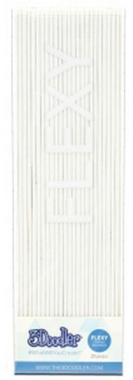Filament 3DOODLER FLX06-WHT 25 sztuk Biały