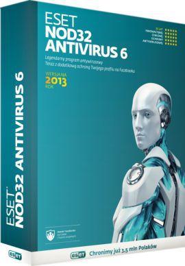Program ESET ESET NOD32 Antywirus 3.0 UPG (1 użyt. 24 mies.)