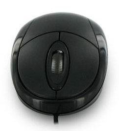 Mysz optyczna BASIC3 USB 1200dpi czarna