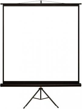 Ekran projekcyjny 4WORLD Matt White na statywie 178 x 178 cm