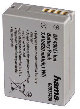 Akumulator HAMA zamiennik Canon Powershot SX40 HS 820 mAh