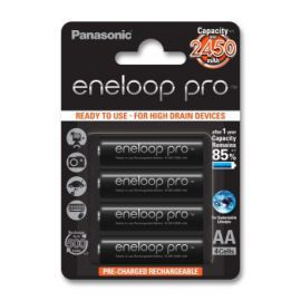 Akumulatorki PANASONIC Eneloop Pro AA 2500 mAh
