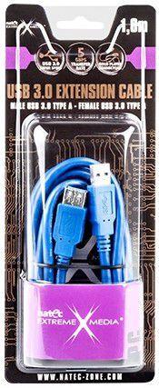 Kabel USB - USB NATEC 1.8 m