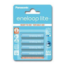 Akumulatorki PANASONIC Eneloop Lite AAA 500mAh 4 szt.