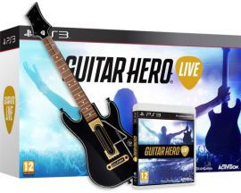Gra PS3 Guitar Hero Live - Zestaw gra + Gitara