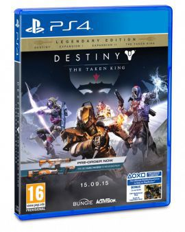Gra PS4 Destiny: The Taken King Legendary Edition