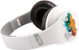 Słuchawki XX.Y HP-8801V Biało-czarny