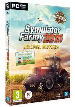 Gra PC Symulator Farmy 2015 Złota Edycja