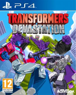 Gra PS4 Transformers Devastation