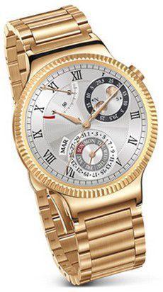 Smartwatch HUAWEI Watch Złoty + bransoleta złota