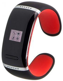 Smartband GARETT Ione Czarno-czerwony