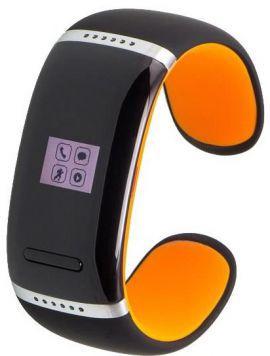 Smartband GARETT Ione Czarno-pomarańczowy w MediaExpert