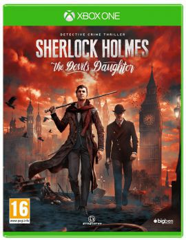 Gra XBOX ONE Sherlock Holmes The Devils Daughter
