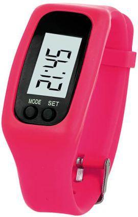 Smartband FOREVER Fitness Różowy