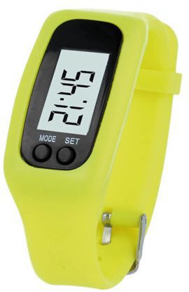 Smartband FOREVER Fitness Żółty