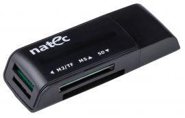 Czytnik kart NATEC Mini ANT 3 USB 2.0 Czarny