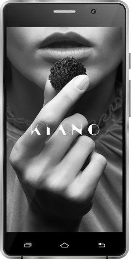 Smartfon KIANO Elegance 5.0 Lite Czarny