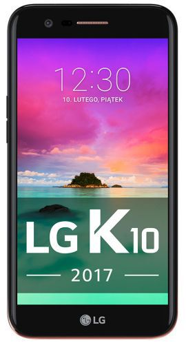 Smartfon LG K10 2017 Dual Czarny