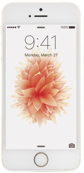 Smartfon APPLE iPhone SE 128GB Złoty