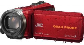 Kamera JVC GZ-R435REU Czerwony