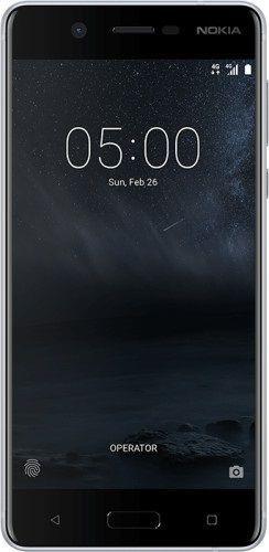 Smartfon NOKIA 5 Dual SIM Srebrny