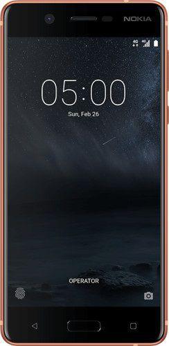 Smartfon NOKIA 5 Dual SIM Miedziany