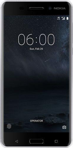 Smartfon NOKIA 6 Dual SIM Srebrny