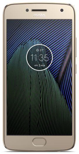 Smartfon MOTOROLA MOTO G5 Plus Złoty