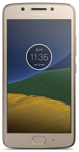 Smartfon MOTOROLA MOTO G5 2/16GB Złoty