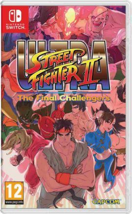 Gra NINTENDO SWITCH Ultra Street Fighter II: The Final Challengers