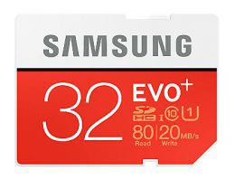 Karta pamięci 32GB 95MB/s micro SD SAMSUNG EVO+ klasa 10 UHS-I MB-MC32GA/EU