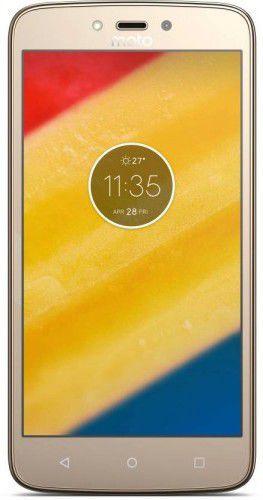 Smartfon MOTOROLA MOTO C Plus 2/16GB Złoty