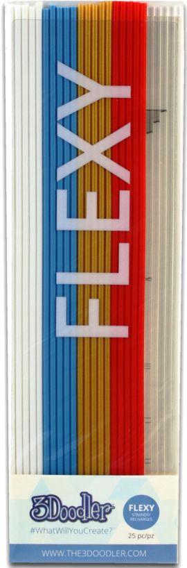 Filament 3DOODLER PL-MIX12 PLA 25 sztuk 5 kolorów