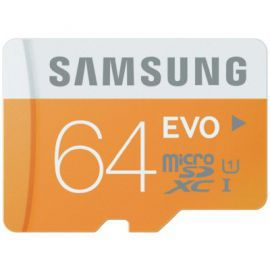 Karta pamięci SAMSUNG 64 GB microSDXC EVO MB-MP64DA/EU