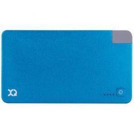 Powerbank XQISIT PB 3000 mAh integrated microUSB Niebieski