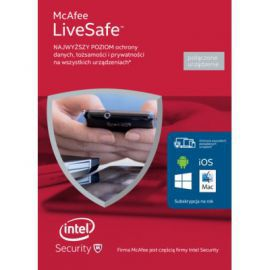 Program McAfee LiveSafe 2016 (1 rok)